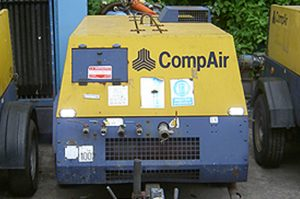 Mobile Air Compressor - Hire